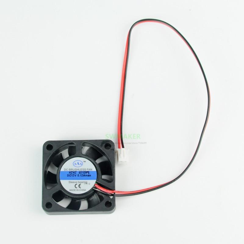 1pcs WANHAO I3 PLUS, MINI Filament Cooling Fan 40*10mm, 24V, Cable 150mm 3D Printer Parts