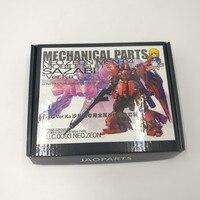 New SMS Metal Details Up Part Set For Bandai 1 100 MG MSN 04 SAZABI Ver.Ka Gundam Model Kit Birthday Gift Action Figure