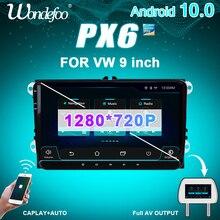 Autoradio PX6 2 DIN Android 10 pour siège Altea Toledo VW GOLF 5/6 Polo Passat B6 CC Tiguan 2din auto audio stéréo navigation