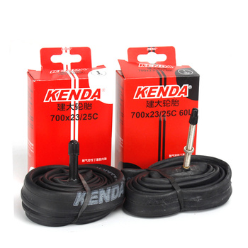 kenda road bicycle inner tube 700C 700 * 23 25C extended American valve French valve bicycle tire accessories image