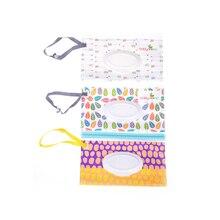 Открытый Дорожный Чехол для новорожденных детей, коробка для салфеток, Диспенсер влажных салфеток, Экологичная коробка для влажных бумажных полотенец