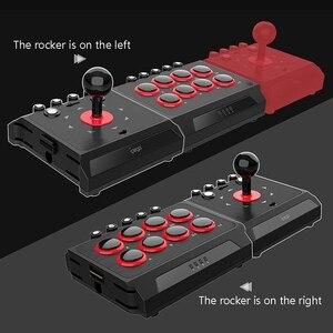 Image 3 - DC5V USB filaire manette de combat Arcade Station combat bâton contrôleur de jeu avec Turbo Macro pour PS4/PS3/NS commutateur/Android/PC