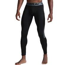 Мужские Термо повседневные штаны для фитнеса абсорбция быстро сохнет эластичные длинные штаны компрессионные колготки обтягивающие леггинсы брюки 8,14