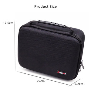 Image 5 - Large Size Electronic Gadgets Storage Case Bag Travel Organizer Case For HDD USB Flash Drive Data Cable Digital Storage Bag
