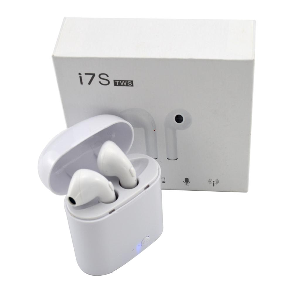 Bluetooth Headset I7s Tws Binaural Mini Sports Wireless 5.0 Bluetooth Headset With Charging Bin Box Support Apple System Android