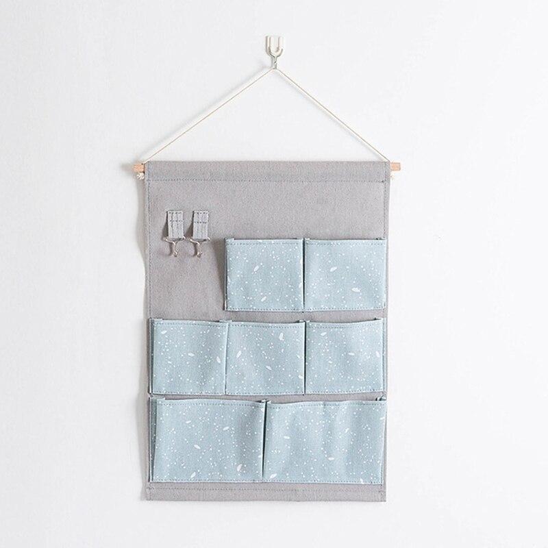 Carttoon настенная подвесная сумка для хранения в скандинавском стиле, органайзер для детской кроватки, декор для детской комнаты, детская игрушка, сумка для хранения подгузников, Домашний Органайзер - Цвет: 17