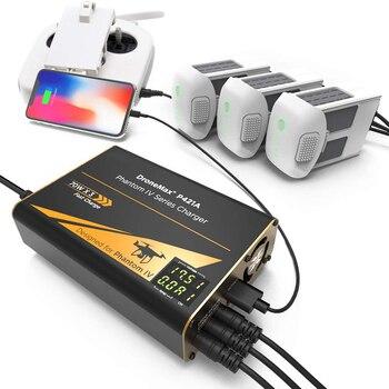цена на Drone Battery Charger for DJ Intelligent Intelligent Fast Multi Battery Charging Hub Station Phantom 4 batteries remote control