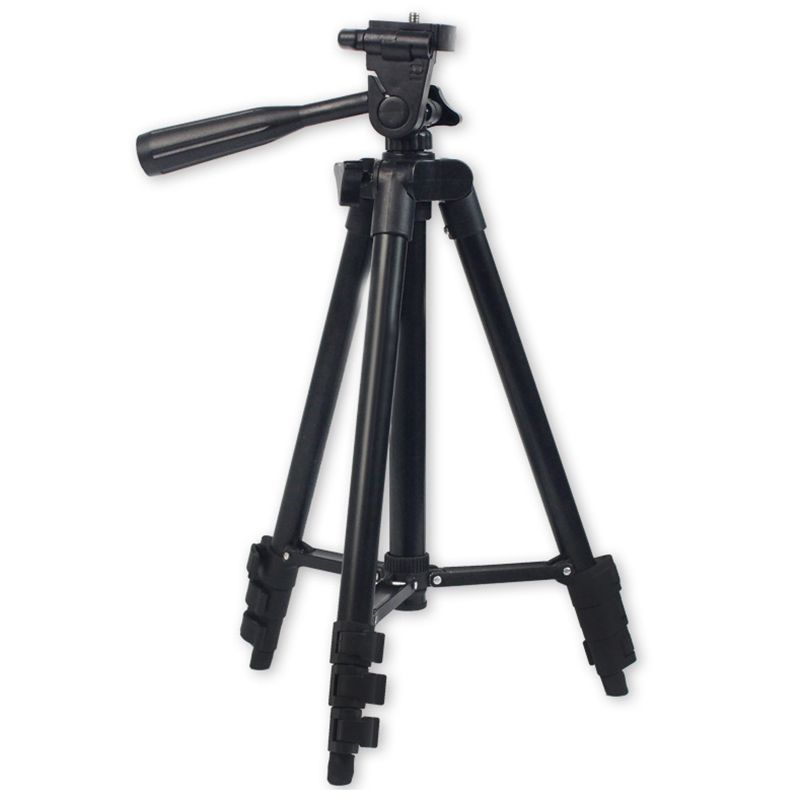 ABHU-DSLR Camera Tripod Stand Photography Photo Video Aluminum Camera Tripod Stand Camera Tripod For Phone/Gopro With Bag
