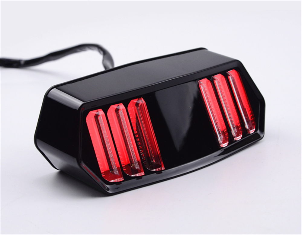 Adeeing Motorcycle LED Tail Light Turn Signal Running Brake Stop Indicators Turn Lamp For Honda MSX125 LED Tail Light R30