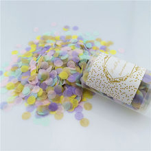 2021 New Popular Paper Pusher Wedding Birthday Party Decoration Small Gift Flower Tube Push Pop Confetti 207