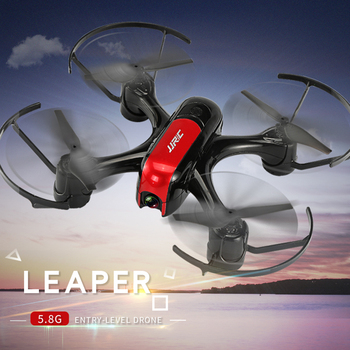 Drone Quadcopter Real-time Transmission Helicopter Toys JJRC Leaper H96 5.8G WiFi FPV Drone with Angle Adjustable Camera RC 2