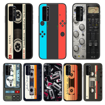 Shockproof Game Personality Phone Case Hull For Huawei Honor 8 9 10 20 30 A S Lite Pro 5g i Black Back Soft Cell Cover Prett image
