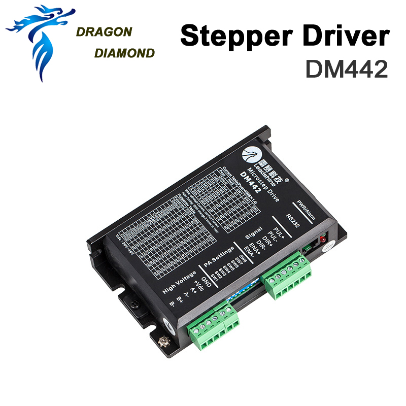 DRAGON DIAMOND Leadshine 2 Phase Analog Stepper Driver <font><b>DM442</b></font> image