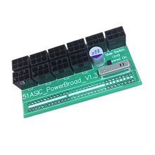1PCS Breakout Board for HP 1200w/750w Power Module GPU Open Rig Mining Ethereum Electronic Components & Supplies
