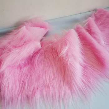 Long Plush Doll Cloth Decoration Imitating Fox Fur Carpet Jewelry Phone Counter Cover Cosplay Artificial 5