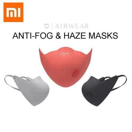 Xiaomi AirWear маска для лица анти Дымчатая и противотуманная маска Mijia AirPoP маска для лица|Смарт-гаджеты|   | АлиЭкспресс