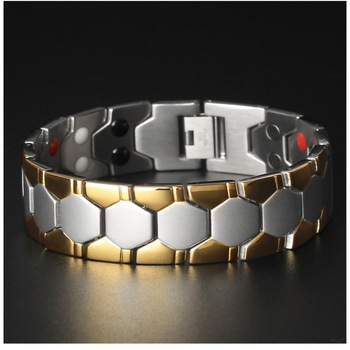 Men's Fashion Titanium Steel Austere Minimalism Watch Link Chain Style Cool Man Three Colors Length Adjustable Casual Bracelet image