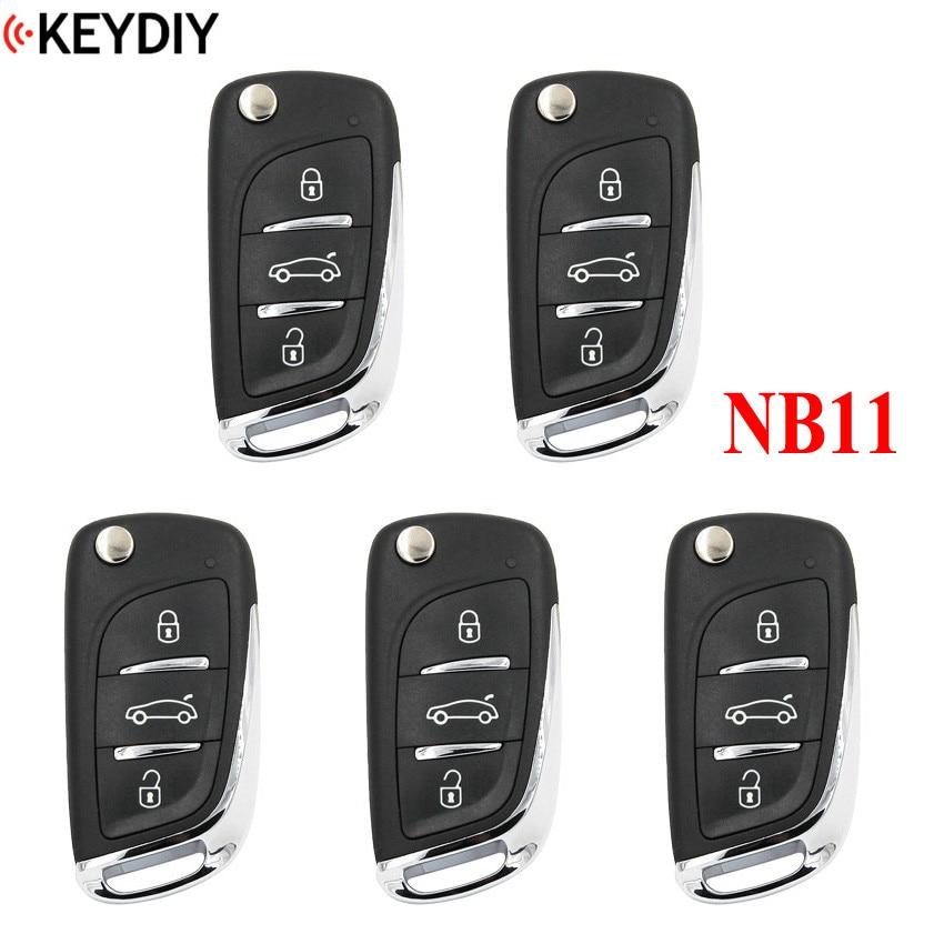 5 шт., многофункциональный универсальный пульт дистанционного управления для KD900 + URG200 KD-X2 NB-Series , KEYDIY NB11 (все функциональные чипы в одном ключ...