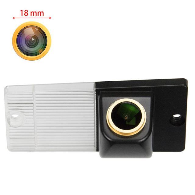 Câmera de visão traseira para kia sorento naza sorento bl xm 2003 2011 1280, câmera de visão noturna câmera de backup hd 720 x p câmera dourada