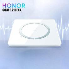 Taxa de gordura corporal da escala/imc/bmr/medição do peso para android escala de honra 2 dexa padrão 11 monitor do analisador do corpo
