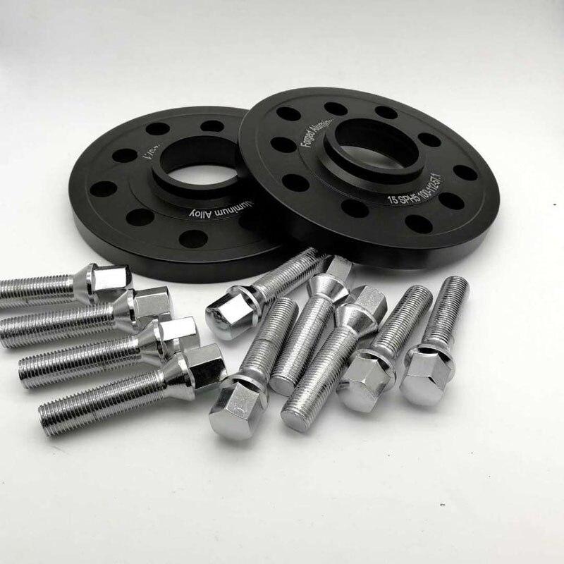 ล้อ Spacers ชุดสำหรับรถยนต์ Audi ชุด 5x100/5x112 CB: 57.1 A1/A2/A3/A4 (B5,B6,B7)/A6 (C4, c5,C6)/A8 (4E)/TT/ALLROAD/Quattro Separadores