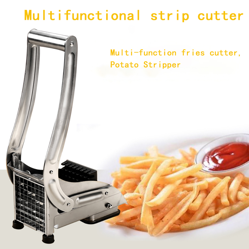 Stainless Steel French Fry Potato Chipper Cutter Potato Chip Making Kitchen Gadgets Kitchen Cooking Tools Food Cutting Machine 3