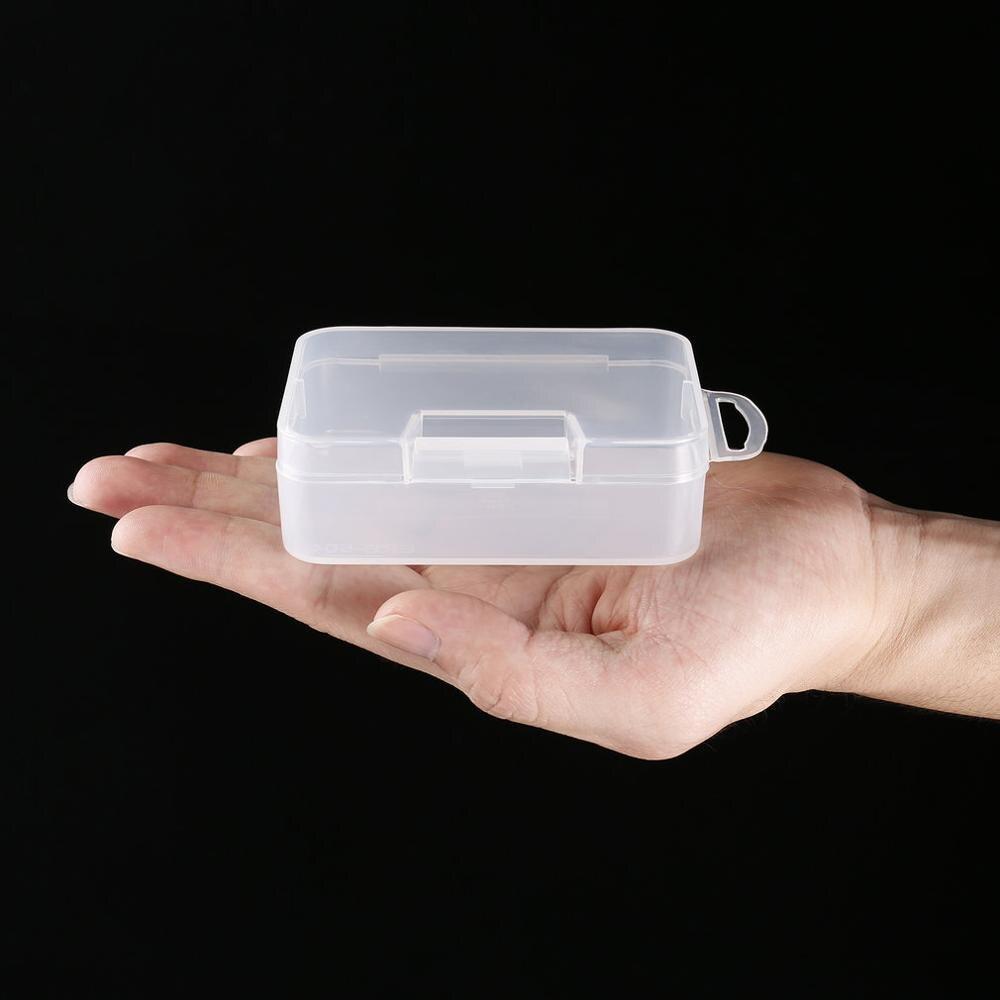 Viagem ao ar livre portátil abs pp transparente caixa de armazenamento plástico pequeno kit pílula doces medicina recipiente de drogas