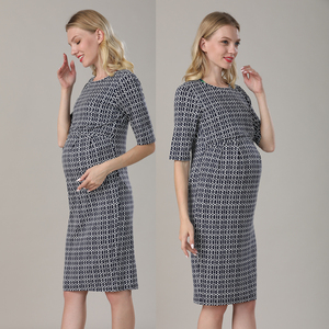 Image 2 - Emotion Moms New Party Maternity Dresses Breastfeeding Clothes Cotton Maternity Clothing for Pregnant Women Summer Dress