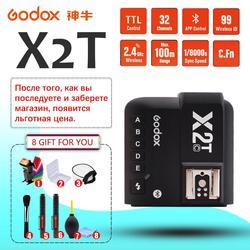 Godox X2T-C X2T-N X2T-S X2T-F X2T-O 2.4G Wireless TTL 1/8000s Flash Trigger Transmitter HSS for Canon Nikon Sony Fuji Olympus