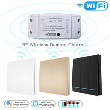 DIY WiFi Smart Light Switch Universal Breaker Timer EWelink APP Wireless Remote Control Works With Alexa Google Home Smart Home
