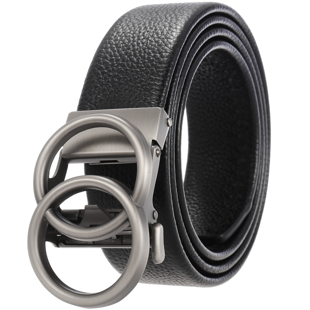 2021 Business casual leather  trouser automatic buckle men's pure cowhy belt a casual belts luxury brand designer gg belt