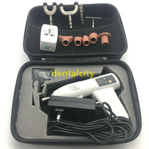 Image 2 - Adjustable Spine Chiropractic Instrument 4 Level 10 Heads Electric Bone Correction Gun Activator Cervical Therapy Massager