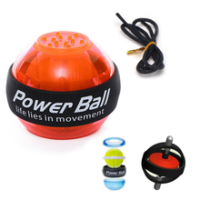 Gyroscope Powerball LED Gyro Power Wrist Ball Arm Muscle Workout Force Strength Energy Trainer Home Gym Sports Fitness Equipment