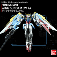 BANDAI RG 1/144 XXXG 01W WING Gundam EW KA Metal Colouring Action Toy Figures Assembly Model A Very Popular Gift