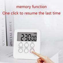 Multifunctional LCD Digital Kitchen Timer Count Down Up Alarm Clock Home Cooking 72XD mini kitchen clock digital lcd cooking timer stopwatch count down up clock square cooking timer alarm 100 minutes