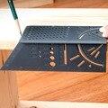 1 шт. деревянная Рабочая линейка 45 градусов и 90 градусов 3D измерительный прибор квадратный размер измерительный инструмент для школы и офис...