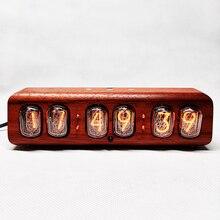 Były związek radziecki IN12 glow tube zegar telefon komórkowy sterowanie Bluetooth glow zegar cyfrowy tube zegar na biurko budzik