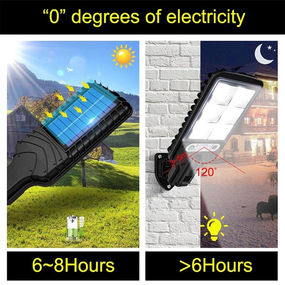 luminaria solar led cob com sensor de 04