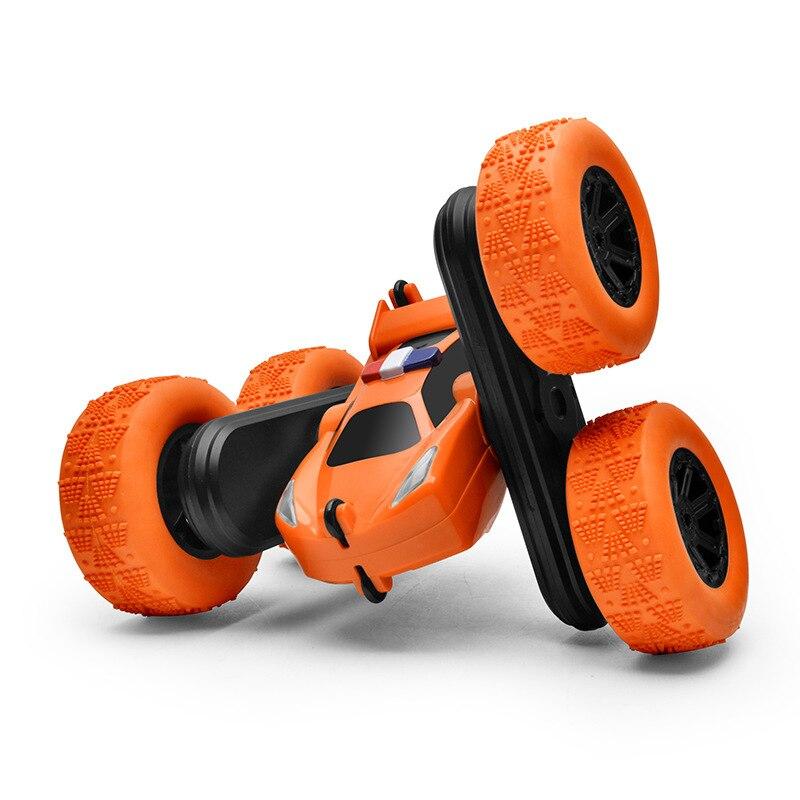 Voiture télécommandée à 360 degrés à rabat, Double face, voiture de dérive, chenille de roche, Robot pour enfants, grande vitesse télécommande, jouets pour enfants