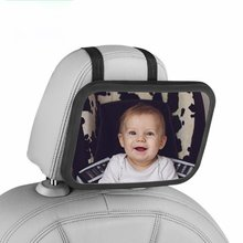 Mirror Car-Seat Baby for Reverse-Mounting-Observation-Mirror Adjustable Viewing