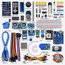 2019 neue Förderung Elektronische Diy Kit Freies Verschiffen! Weikedz Super Starter Learning Kit Für Ar-duino Mit 1602 Lcd Rfid
