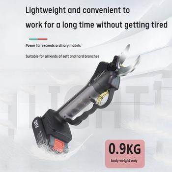 35MM wodoodporne nożyce elektryczne sekator sadowniczy nożyce elektryczne nożyce elektryczne bezprzewodowe nożyce elektryczne z długim prętem tanie i dobre opinie NoEnName_Null CN (pochodzenie) NONE 21 V STAINLESS STEEL Baterii Li-Ion shears Professional cordless electric pruning shears