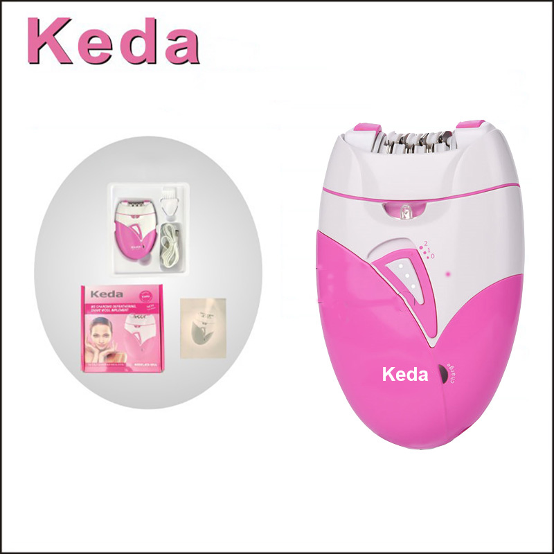 Epilator Hair-Removal-Machine Shaving-Trimmer Electric Rechargeable Lady Woman's