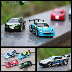 2.4G 1/58 Mini RC Remote Control Racing Cars with Light APP Control Multiplayer Vehicle Drift-Buggy Bluetooth radio Toys Kid