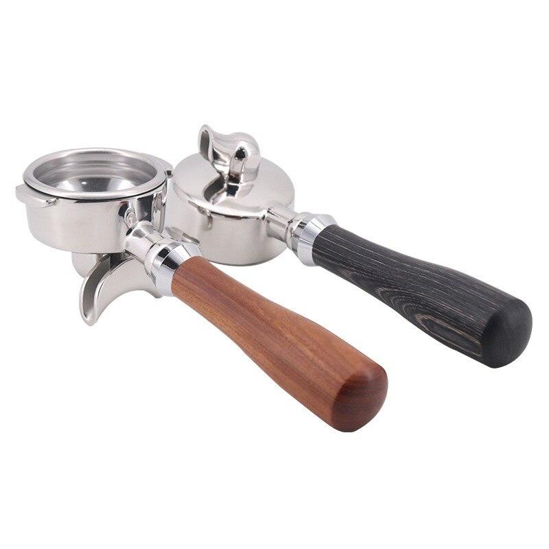 58 мм портафильтр для E61 эспрессо машины, 1 носик 2 носик, с твердой деревянной ручкой|Фильтры для кофе|   | АлиЭкспресс