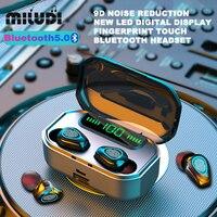 Miniauriculares TWS G20, inalámbricos por Bluetooth, Auriculares deportivos de negocios para música, para Xiaomi, Huawei, Oppo, Samsung y Iphone