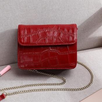 Small Chain Square Shape Flap Handbag