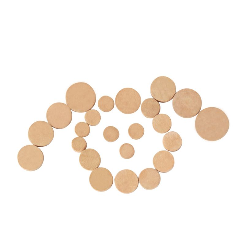 Sweet-Tempered High Quality 23pcs Oboe Cork Mat Pads Sound Hole Gasket Repair Parts Woodwind Instruments