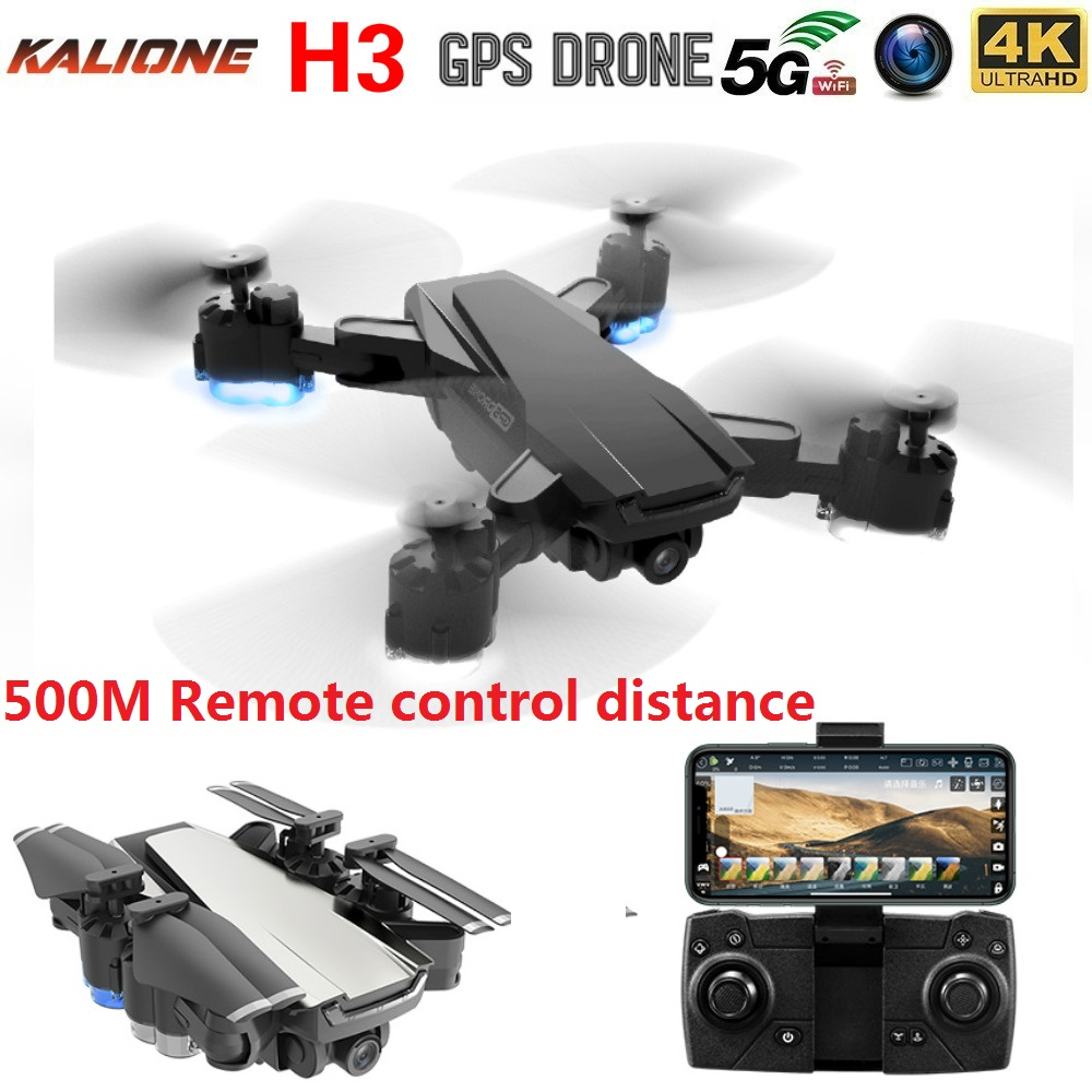 H3 Drone gps HD 4K 1080P 5G WIFI FPV video transmission height keep flying 15 minutes quadcopter drones with camera HD VS SG907