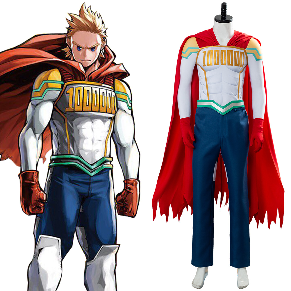Boku no Hero Academia Mirio Togata cosplay costume my hero academia Million cos